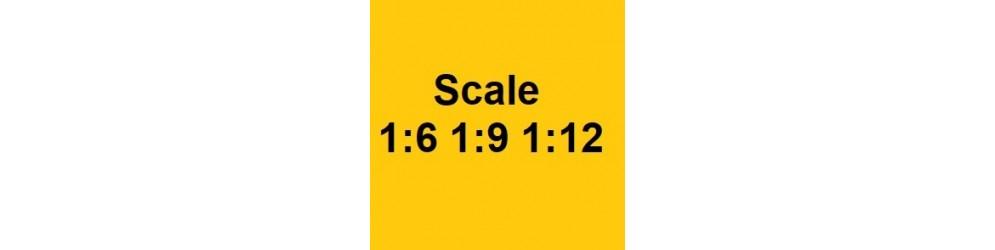 Modellini Plastica Scala 1:6 ; 1:9 ; 1:12 - Modellismo Pensa Viareggio